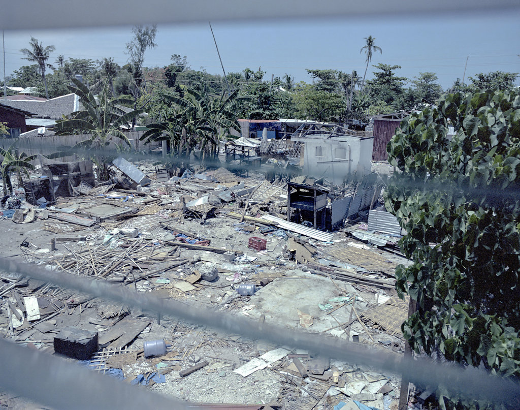 A lot of the locals at Malapascua feel ignored by the state, in the reconstruction of the island. The locals believe that the Philippine government, has prioritized Tacloban larger, due to the large media coverage.